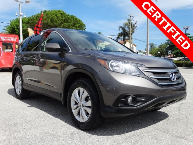 2012 Honda CR-V EX Gray CLEAN CARFAX ONE OWNER LOW MILES NON-SMOKER CERTIFI