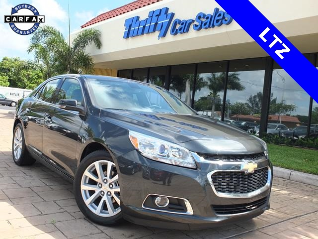 2014 Chevrolet Malibu LTZ Gray LEATHER AUTOMATIC STILL UNDER FACTORY WARRANTY and