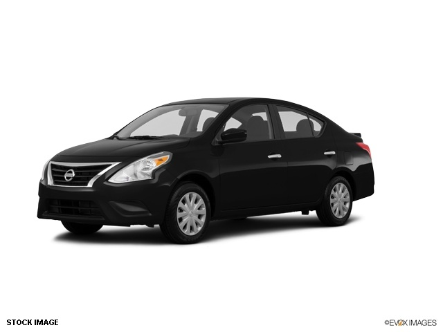 2015 Nissan Versa 16 S Plus Black 15 Steel Wheels wFull Wheel CoversAdjustable Front Bucket Se