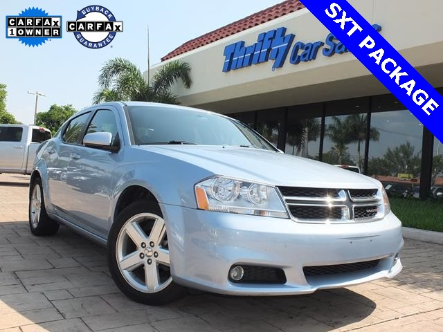 2013 Dodge Avenger SXT Blue ACCIDENT FREE CARFAX AUTOMATIC STILL UNDER FACTORY WARRAN