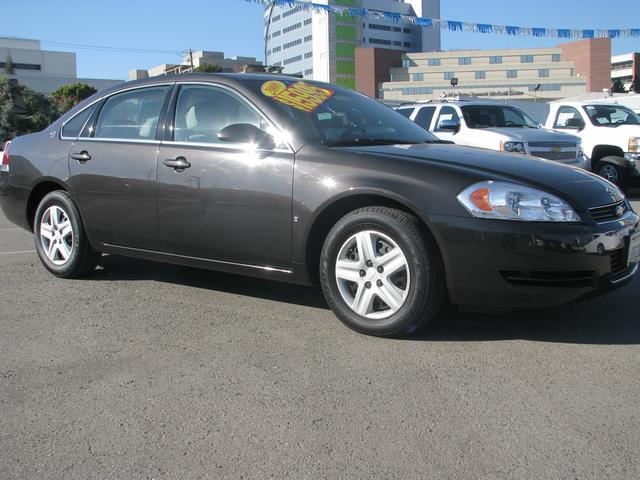 2008 Chevrolet Impala LS Black 6 SpeakersAMFM radioAMFM Stereo wXM SatelliteCDMP3 Playback
