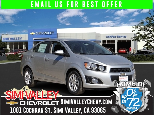 2015 Chevrolet Sonic LT Silver Chevrolet FEVER Drive this home today NEW ARRIVAL  If youre
