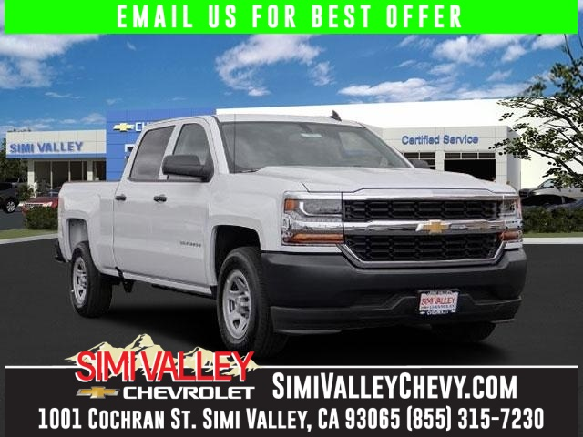 2016 Chevrolet Silverado 1500 White ABS brakes Electronic Stability Control Low tire pressure w