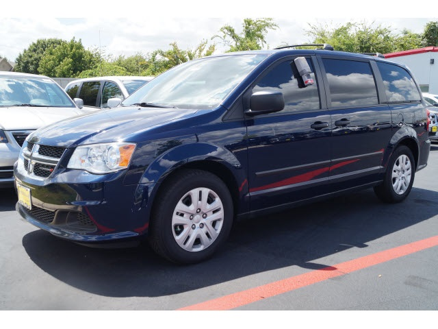 2015 Dodge Grand Caravan Blue ABS brakes Electronic Stability Control Front dual zone AC Heat