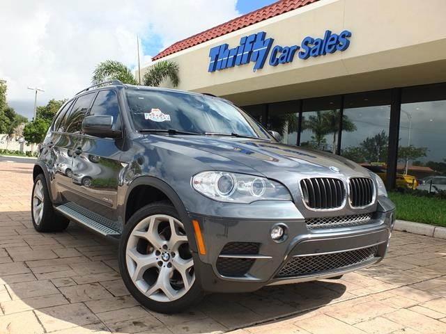 2012 BMW X5 xDrive35i Gray ACCIDENT FREE CARFAX ONE OWNER LEATHER MOONROOFSUNRO