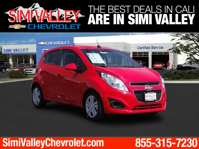 2015 Chevrolet Spark 1LT Red The Simi Valley Chevrolet Advantage Here it is NEW ARRIVAL  Con
