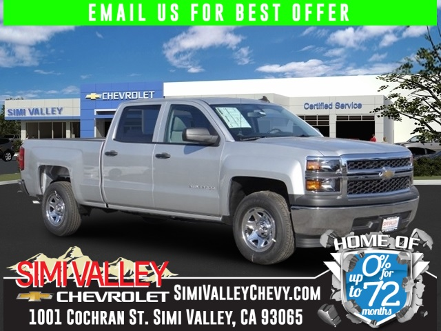 2015 Chevrolet Silverado 1500 LS Silver Your satisfaction is our business The Simi Valley Chevro