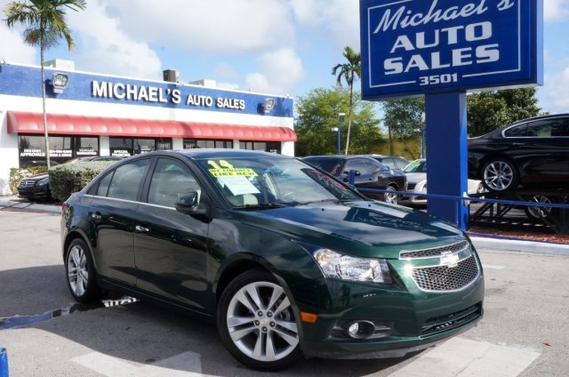 2014 Chevrolet Cruze LTZ Green Stroll on down here Ready to roll How would you like riding h