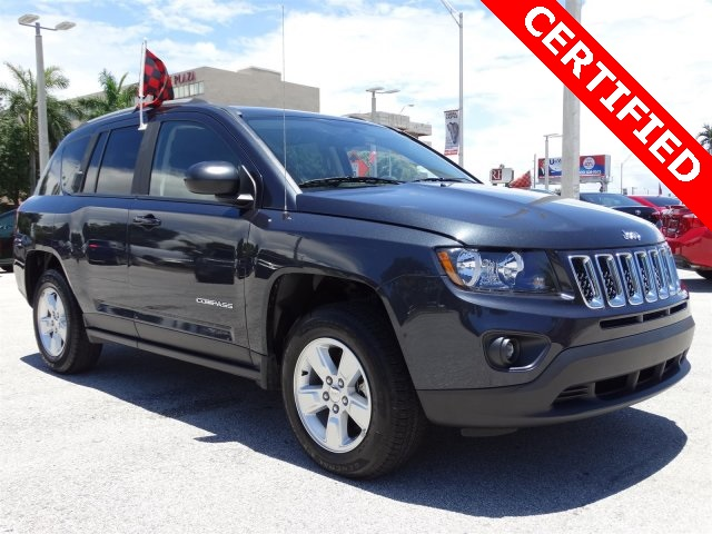 2015 Jeep Compass Sport Blue CLEAN CARFAX ONE OWNER LOW MILES NON-SMOKER CE