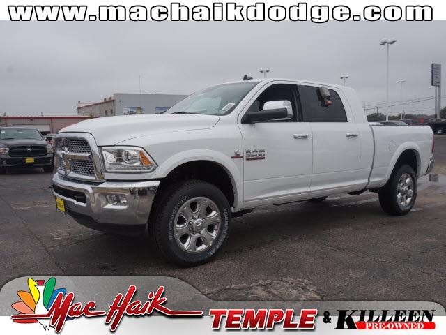 2015 Dodge Ram 3500 Laramie White Price includes 3000 - SW Retail Consumer Cash  63C1 Exp 0