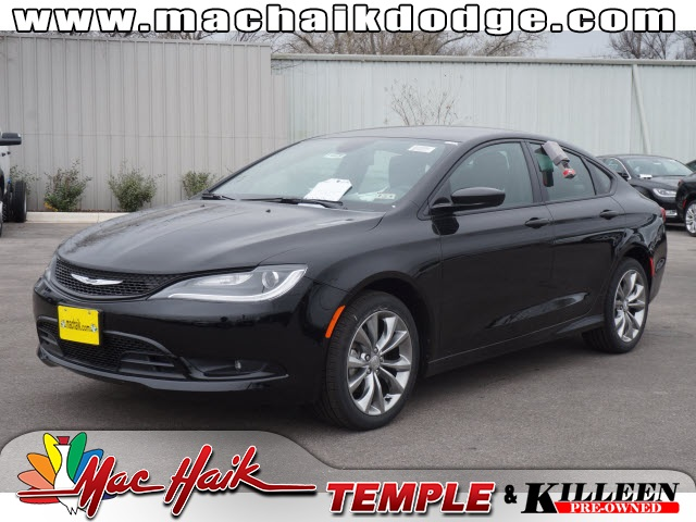 2015 Chrysler 200 S Black CLEAN CARFAX HISTORY REPORT S PACKAGECheck this one out Beauti