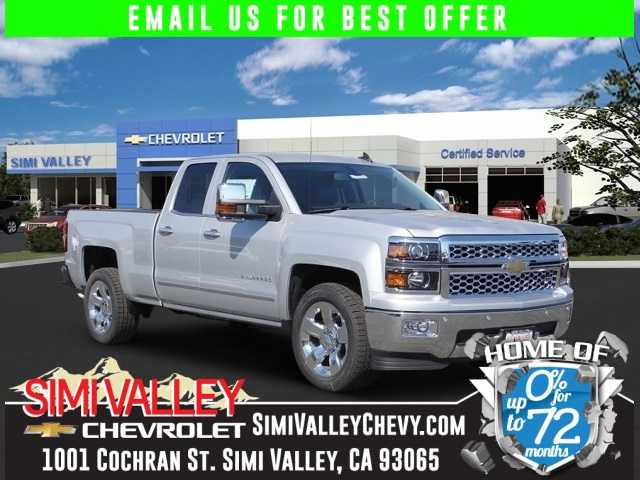 2015 Chevrolet Silverado 1500 Silver Short Bed Extended Cab NEW ARRIVAL  If youre looking f