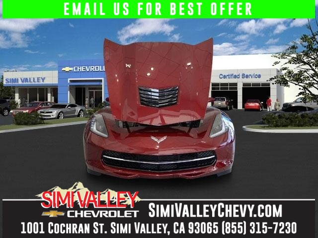 2016 Chevrolet Corvette Stingray Z51 Red Stick shift Welcome to Simi Valley Chevrolet NEW ARRIV