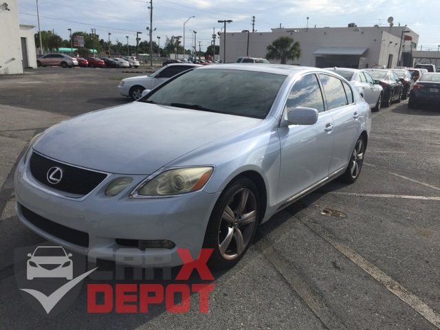 2006 Lexus GS 430 White CLEAN CARFAX ONE OWNER LOW MILES NON-SMOKER CRUISE