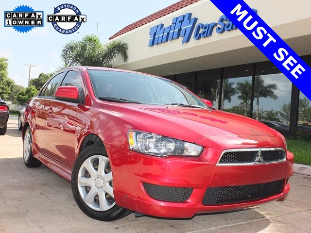 2013 Mitsubishi Lancer ES Red Come to the experts All the right ingredients  This great 2013