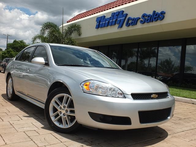2013 Chevrolet Impala LTZ Silver ACCIDENT FREE CARFAX LEATHER AUTOMATIC CERTIFIE