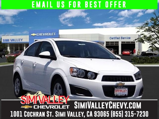 2016 Chevrolet Sonic LS White Car buying made easy Hold on to your seats NEW ARRIVAL  This s