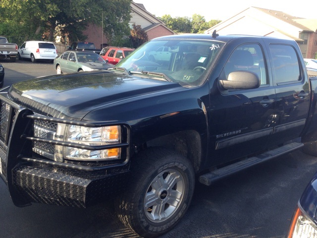 2012 Chevrolet Silverado 1500 LT Black 4 WHEEL DRIVE Z71 OFF-ROAD PACKAGE FULL REPLACEMENT