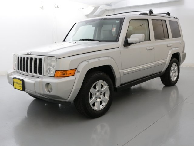2007 Jeep Commander Overland Silver OVERLAND PACKAGE HEMI POWER POWER SUNROOFMOONROOF L