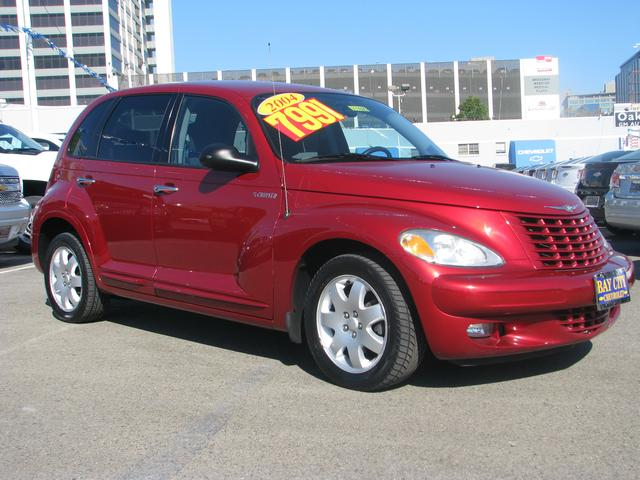 2004 Chrysler PT Cruiser Touring Red 6 SpeakersAMFM Compact Disc wChanger ControlAMFM radioC