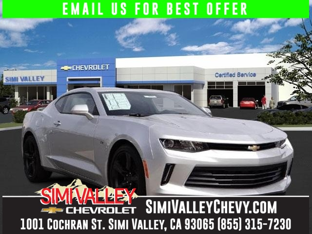 2016 Chevrolet Camaro 2LT Silver 6spd manual Turbocharged NEW ARRIVAL  This charming 2016 Ch