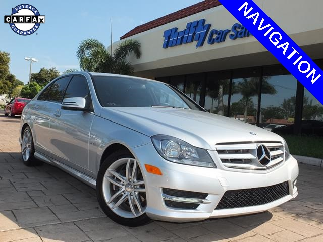 2012 Mercedes-Benz C-Class C250 Gray LEATHER AUTOMATIC MOONROOFSUNROOF LOW MILE