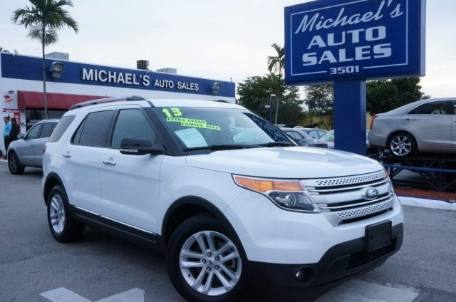 2013 Ford Explorer Limited White 99 POINT SAFETY INSPECTION CLEAN CARFAX LEATHER