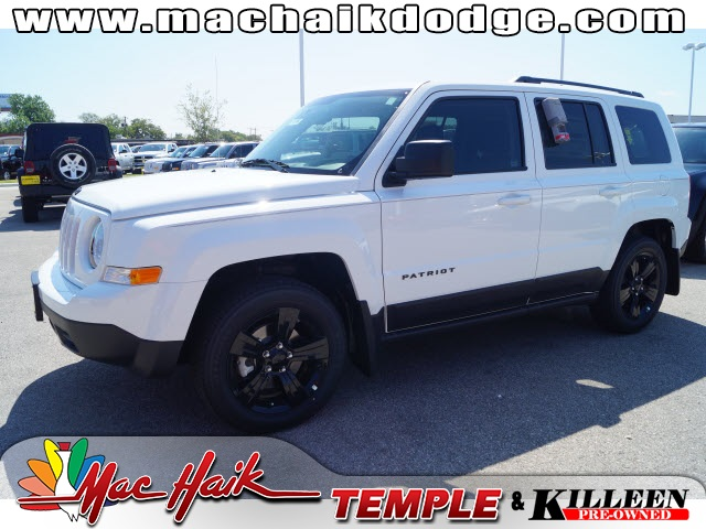 2015 Jeep Patriot White Yes Yes Yes Yeah baby Are you ready for some hauling This good-loo