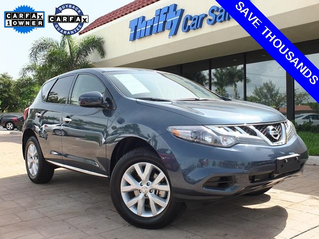 2014 Nissan Murano SV Blue ACCIDENT FREE CARFAX ONE OWNER LEATHER AUTOMATIC