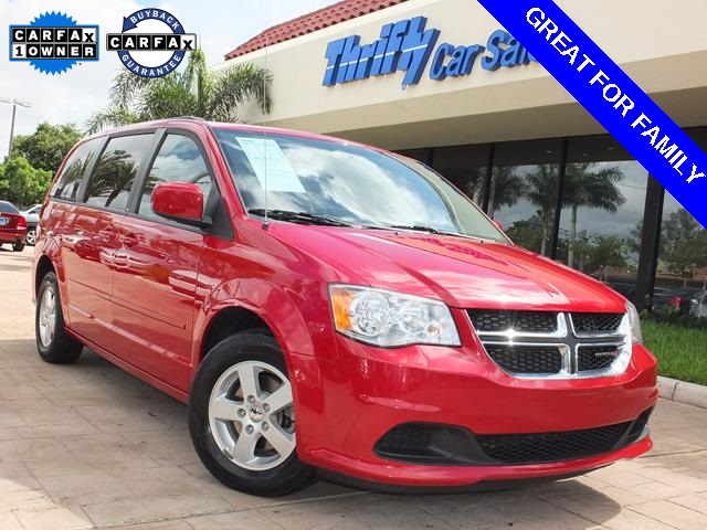 2013 Dodge Grand Caravan SXT Red ACCIDENT FREE CARFAX ONE OWNER AUTOMATIC CERTIF