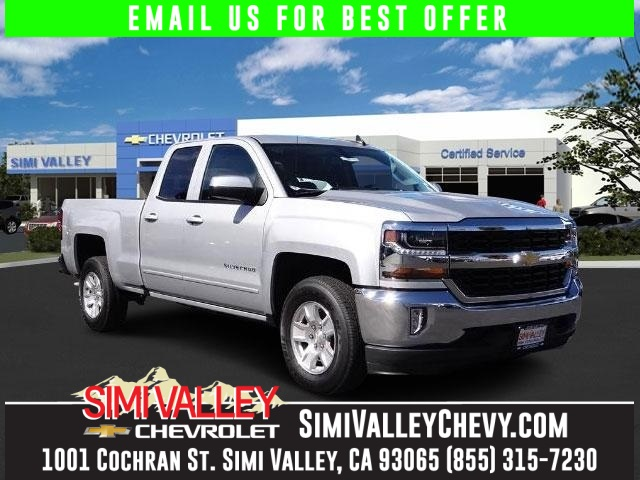 2016 Chevrolet Silverado 1500 LT Silver Short Bed Extended Cab NEW ARRIVAL  Imagine yourself