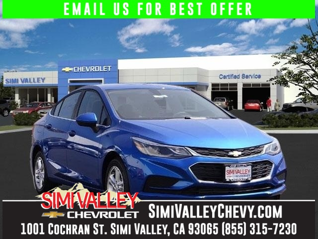2016 Chevrolet Cruze LT Blue At Simi Valley Chevrolet YOURE 1 Wow Where do I start NEW ARR