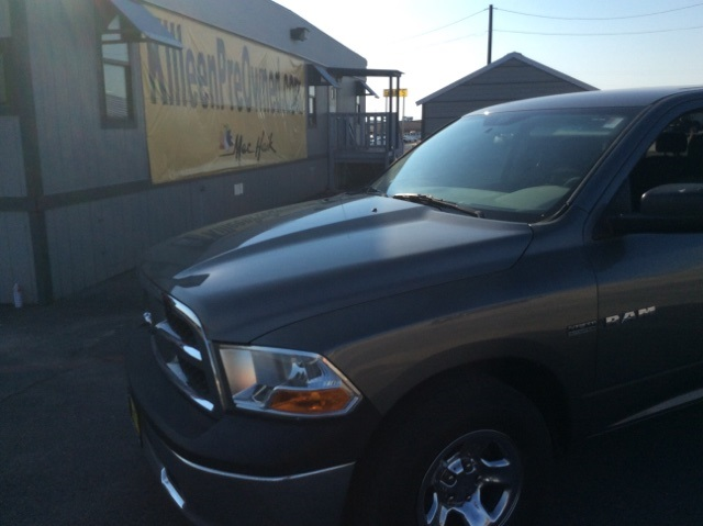 2010 Dodge Ram 1500 ST Mineral Gray Metallic Clearcoat CREW CAB HEMI V8 Put down the mouse