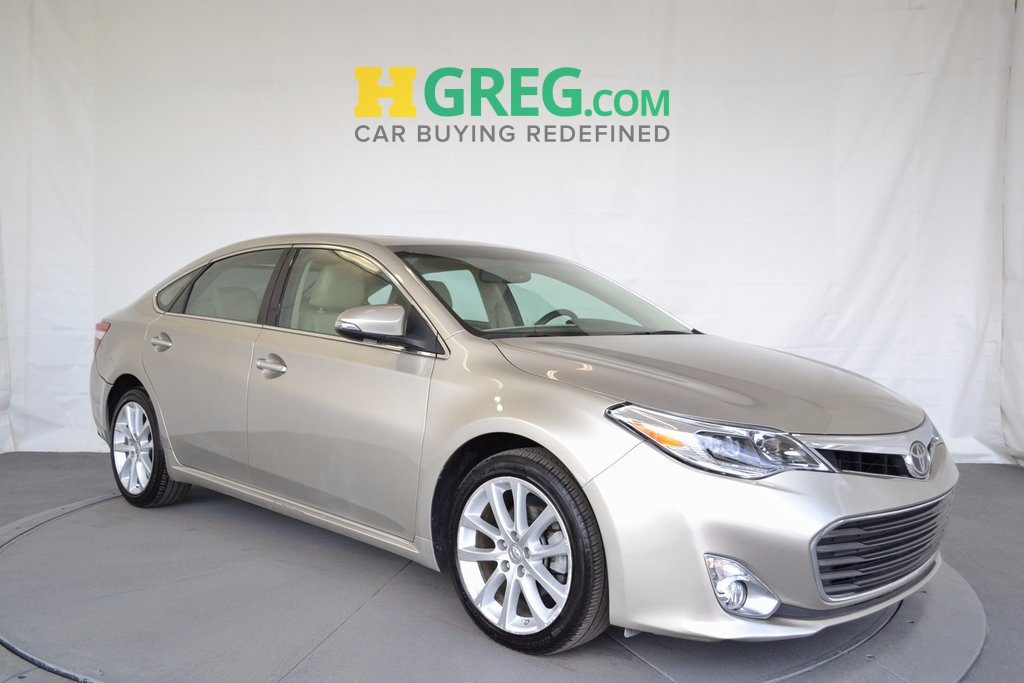 2013 Toyota Avalon Limited Beige ONE OWNER BE AWARE THAT THIS VEHICLE IS PRICED 1918 U