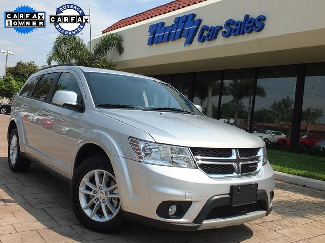 2013 Dodge Journey SXT Silver ACCIDENT FREE CARFAX ONE OWNER AUTOMATIC and  IMPE