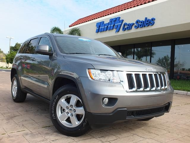 2012 Jeep Grand Cherokee Laredo Gray ACCIDENT FREE CARFAX ONE OWNER CERTIFIED PRE-OWN