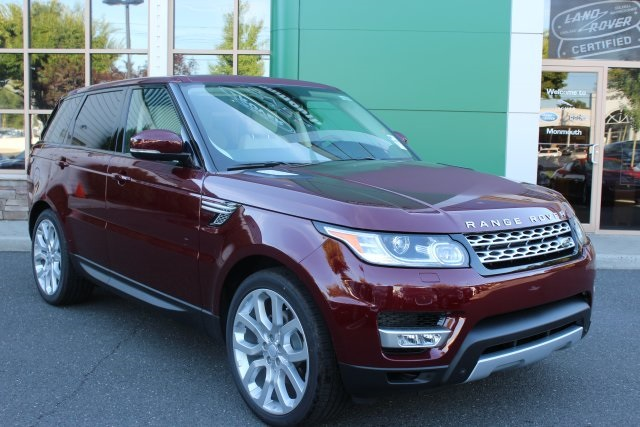 2015 Land Rover Range Rover Sport 30L V6 Supercharged HSE Red TBD Axle RatioWheels 20 5 Split