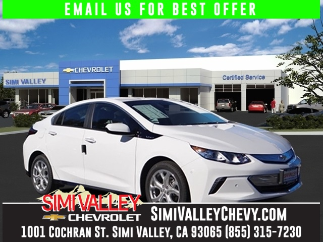 2016 Chevrolet Volt Premier White In a class by itself Join us at Simi Valley Chevrolet NEW ARR