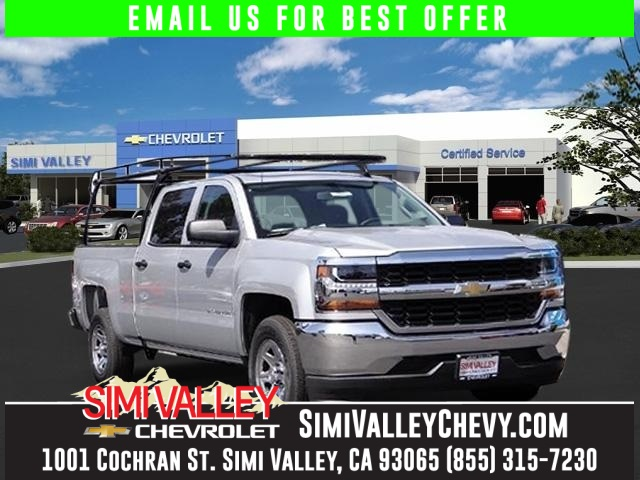 2016 Chevrolet Silverado 1500 Silver Crew Cab Short Bed NEW ARRIVAL  If youre looking for c