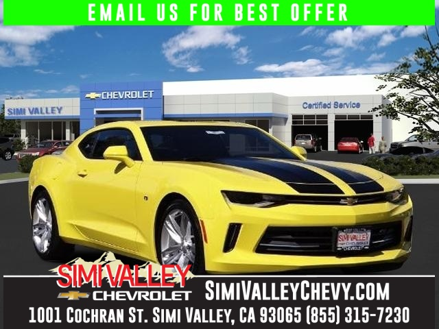 2016 Chevrolet Camaro 1LT Yellow 6spd Turbo NEW ARRIVAL  This fantastic-looking 2016 Chevrol