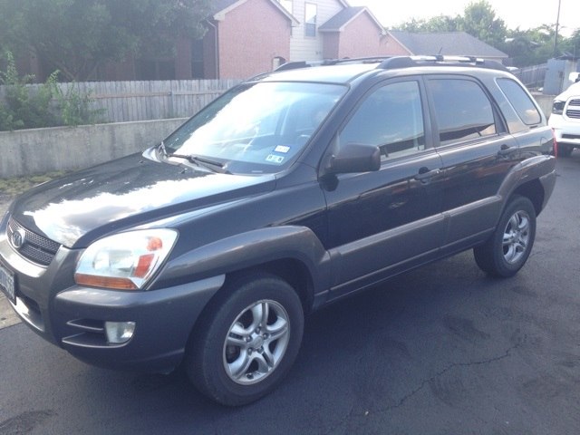 2008 Kia Sportage LX Black CLEAN ONE OWNER CARFAX HISTORY REPORT VALUE PRICING Wow What a