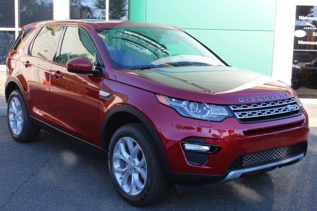 2016 Land Rover Discovery HSE Red 375 Axle RatioWheels 18 5 Split Spoke Sparkle Silver10-Way
