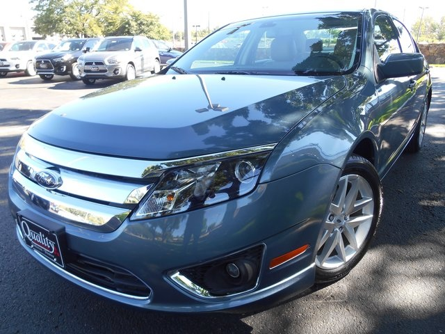2012 Ford Fusion SEL Blue One Owner - Lease Return Well Equipped with - Drivers Vision Packag