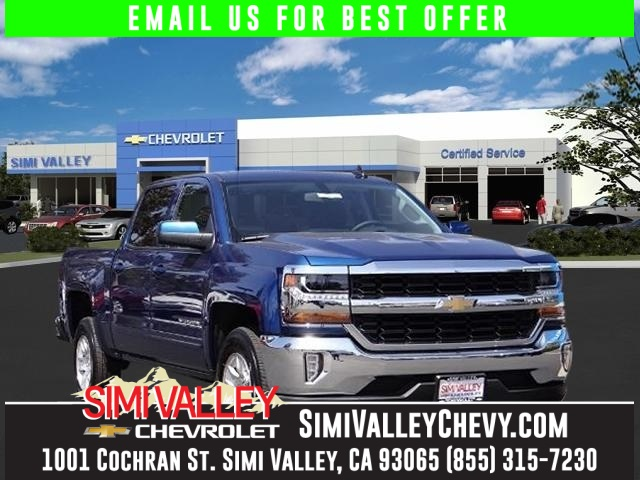 2016 Chevrolet Silverado 1500 LT Blue Youll NEVER pay too much at Simi Valley Chevrolet You NEE