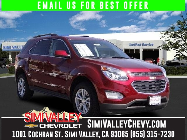 2016 Chevrolet Equinox LT Red Ready to roll Move quickly NEW ARRIVAL  If youre looking for