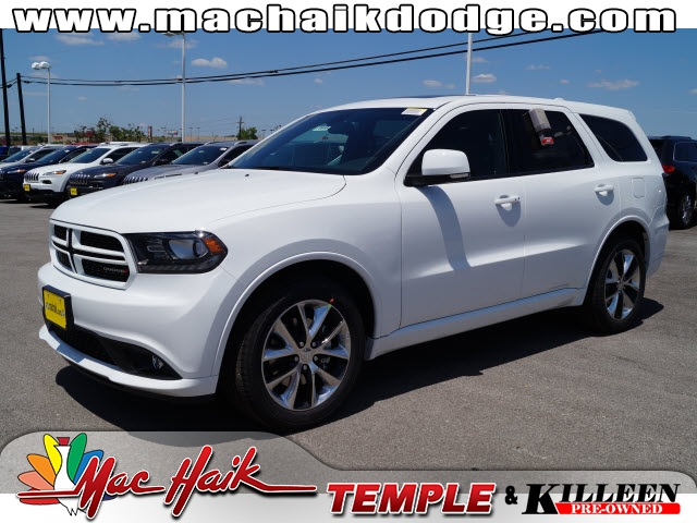 2015 Dodge Durango RT White Price includes 750 - SW Retail Consumer Cash  63C1 Exp 0803 Fa