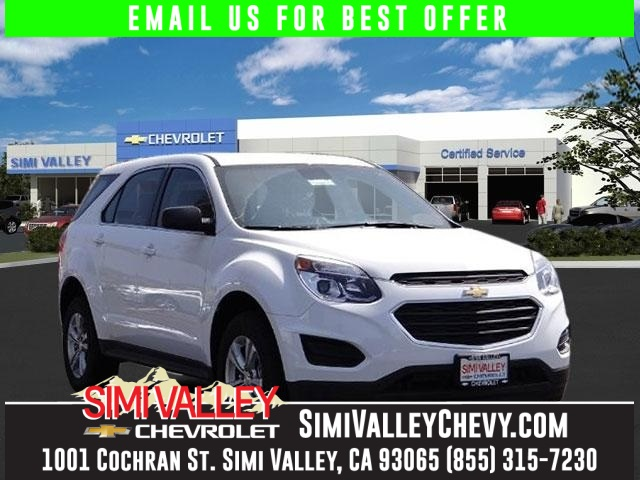 2016 Chevrolet Equinox White Your lucky day Isnt it time for a Chevrolet NEW ARRIVAL  How
