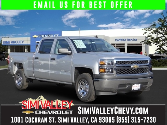 2015 Chevrolet Silverado 1500 LS Silver Nice truck Get ready to ENJOY NEW ARRIVAL  This terr