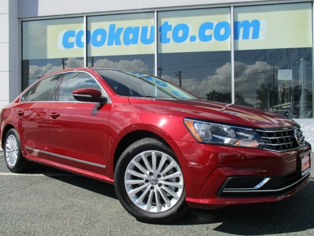 2017 Volkswagen Passat 18T SE Red Get ready to ENJOY Wow Where do I start Be the talk of t