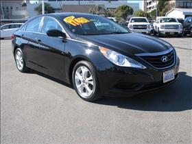 2011 Hyundai Sonata Black Anti-Lock Braking System ABSAir ConditioningFront Front Seat Side I
